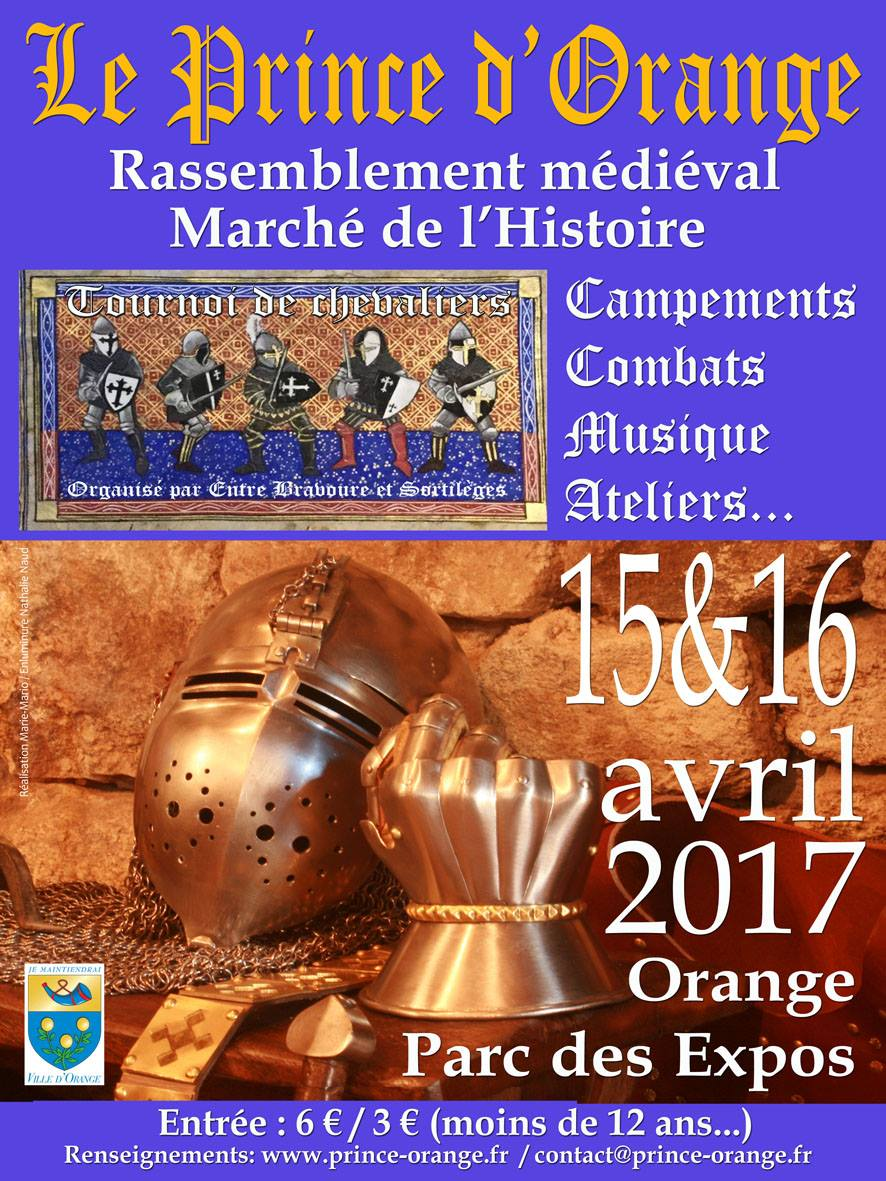 Marché de l'Histoire à Orange(Vaucluse)