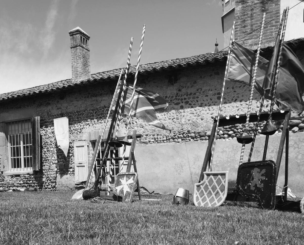 Journée Médiévale au Château de l'Arthaudière à St Bonnet de Chavagne (Isère) le 06 juin2017
