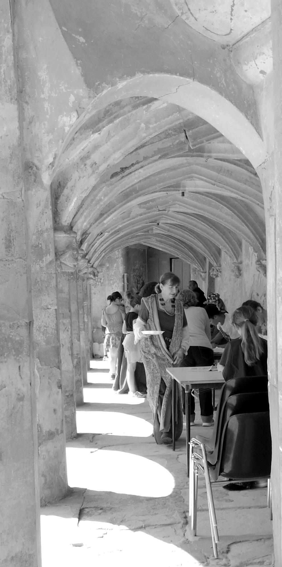 Animation Médiévale au Château de l'Arthaudière à St Bonnet de Chavagne (Isère) le 23 mai2017