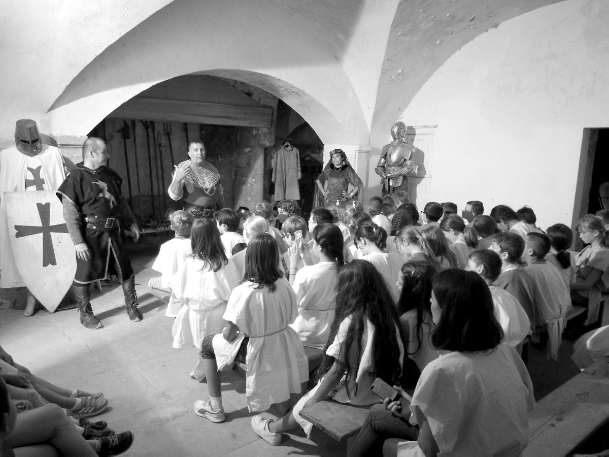 Journée Médiévale au Château de l'Arthaudière à St Bonnet de Chavagne (Isère) le 30 mai2017