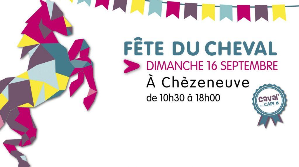 Dimanche 16 septembre 2018 fête du Cheval à Chèzeneuve(38)